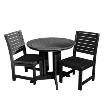 Highwood® Weatherly 3-pc. Round Dining Set
