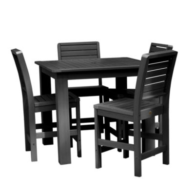 Highwood® Weatherly 5-pc. Square Counter Dining Set