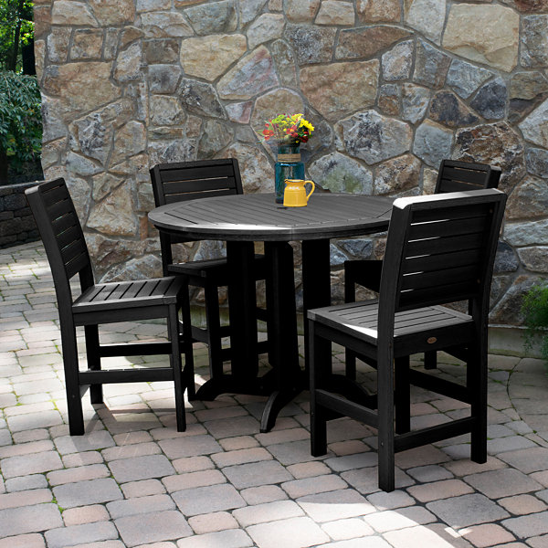 Highwood® Weatherly 5-pc. Round Counter Dining Set