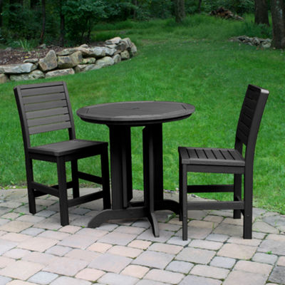 Highwood® Weatherly 3-pc. Round Counter Dining Set