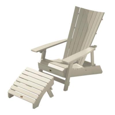 Highwood® Manhattan Beach Adirondack Chair with Folding Adirondack Ottoman