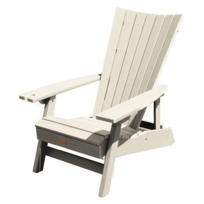 Highwood® Manhattan Beach Adirondack Chair with Wine Glass Holder