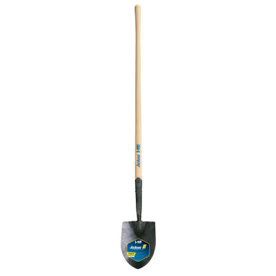 "Ames 1259100 47"" Wood Handle No. 1 Pony IrrigatingRound Point Shovels"""