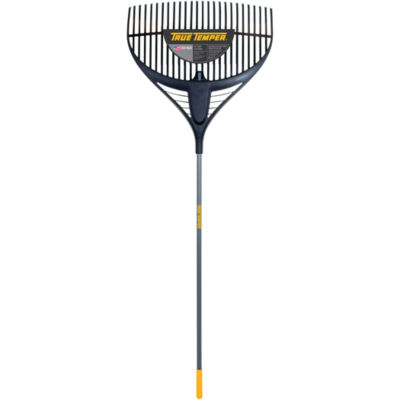 """True Temper 2919200 64"""" Collector Series Poly LeafRake With 26"""" Steel Handle"""""""