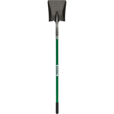 "Seymour 49432 9.7"" Square Point Shovel With 43"" Fiberglass Handle"""