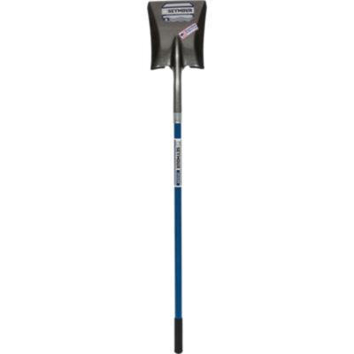 "Seymour 49452 9"" Square Point Shovel With 46"" Fiberglass Handle"""