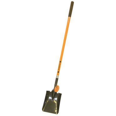 """Flexrake CLA803 60"""" Square Point Fiberglass Shovel"""""""