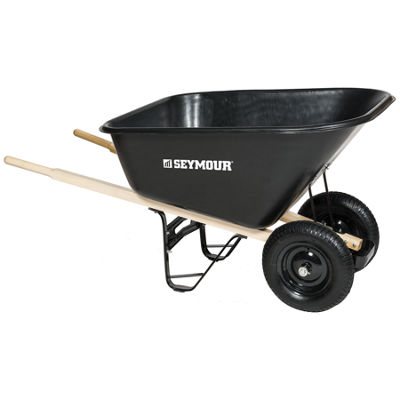 "Seymour 85765 60"" X 35.25"" X 19.5"" Wheelbarrow"""