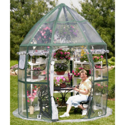 Flowerhouse FHCV900 8.6' X 12' Conservatory Portable Greenhouse