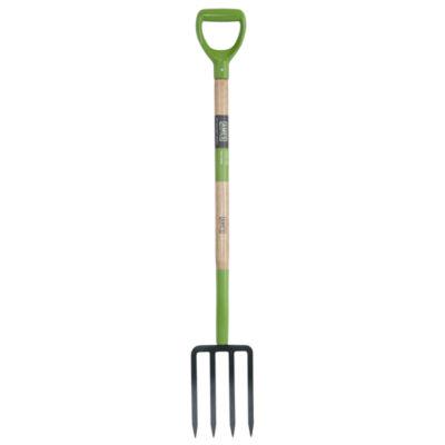 "Ames 2826200 2.125"" D X 6.63"" W X 45.25"" H 4-TineForged Spading Fork"
