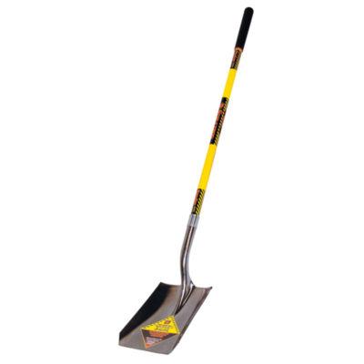 """Seymour-Structron S701 49732 48"""" Fiberglass Long Handle Structron¨ Square Point Shovel"""""""
