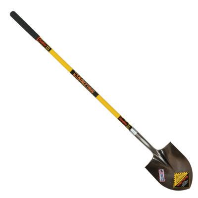 """Seymour-Structron S700 49730 48"""" Fiberglass Long Handle Structron¨ Round Point Shovel"""""""