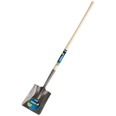 "Jackson 1309500 48"" Wood Handle No. 2 Kodiak¨ Round Point Shovel"""