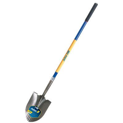 "Jackson 1558300 48"" Fiberglass Handle No. 2 Kodiak¨ Round Point Shovel"""