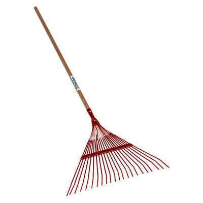 "Seymour 40940 18-Tine Leaf Rake With 18"" Steel Head"""