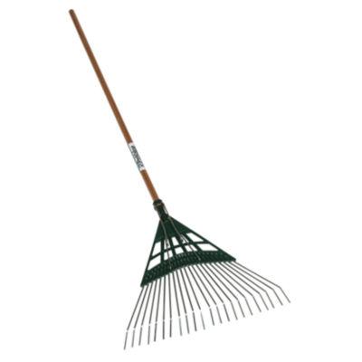 "Seymour 43372 22-Tine Leaf Rake With 22"" Poly Head"""