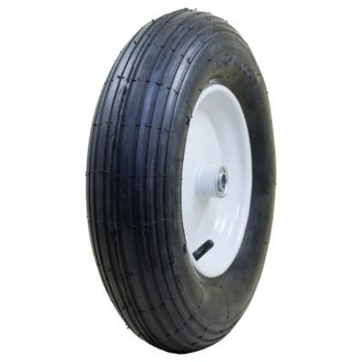 "Marathon 20063 4.80/4.00-8"" Pneumatic Ribbed Wheelbarrow Tire"""