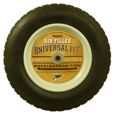 Marathon 20265 Universal Fit Air Filled Wheelbarrow Tireª