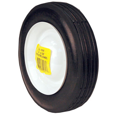 "Maxpower 335161 6"" x 1.5"" Steel Wheel"""