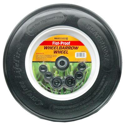 Maxpower 335278 Flat-Proof Wheelbarrow Wheel