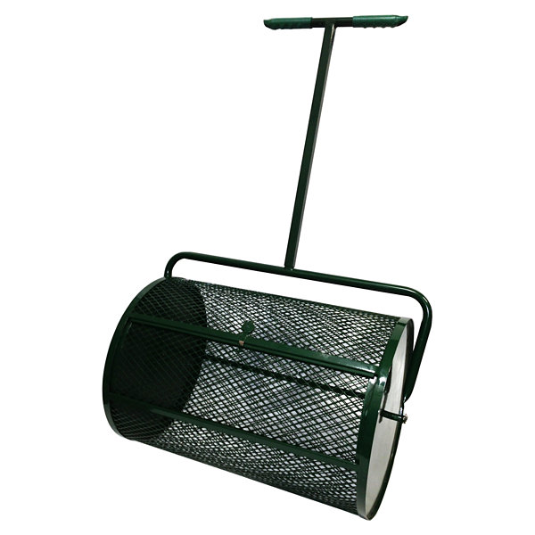 "Peak Seasons 25A 18"" X 24"" Green Compost Spreader"""