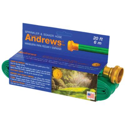 Andrews Sprinkler & Soaker Hose 70-12350 20' GreenSprinkler & Soaker Hose