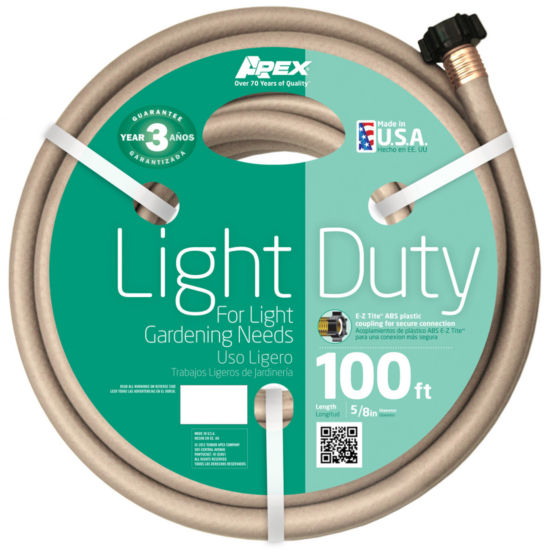 "Apex 5/8"" Light Duty Garden Hose"""