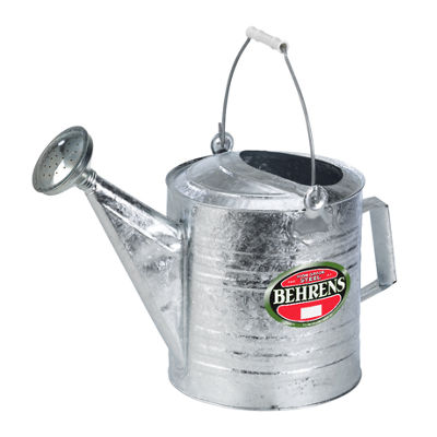 Behrens High Grade Steel 210 2.5 Gallon Hot DippedGalvanized Steel Watering Can
