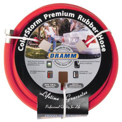 """Dramm 5/8"""" X 50' ColorStorm Premium Rubber Hose"""""""