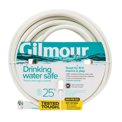 "Gilmour 1/2"" 5-Ply Marine & Recreation Hose"""