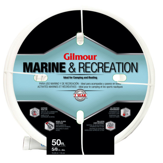 "Gilmour 5/8""  5-Ply Marine & Recreation Hose"""