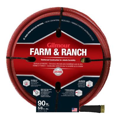 Gilmour 29058090 90' 6-Ply Farm & Ranch Hose
