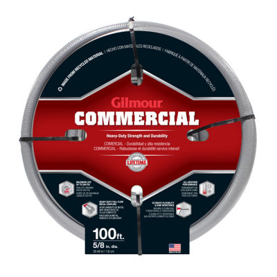 Gilmour 29058100 100' Rubber & Vinyl Commercial Hose