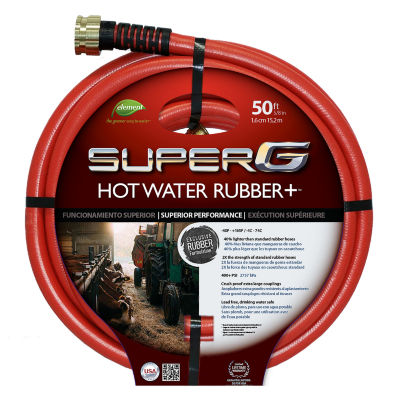 "Swan Hose 5/8"" Red Hot Water Garden Hose"""