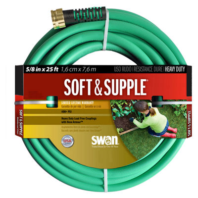 "Swan Hose 5/8"" Soft & Supple Garden Hose"""