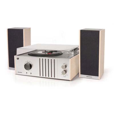Crosley Record Player Turntable with Detachable Speakers