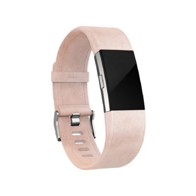 Fitbit Charge 2 Leather Accessory Band - Pink