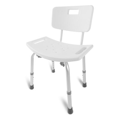 Dmi Tool-Free Bath And Shower Chair With Back