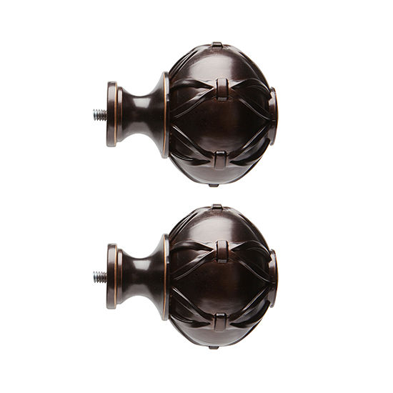 JCPenney Home Mix & Match Knotted Ball 2-pc. Finials