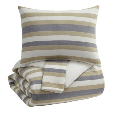 Signature Design by Ashley® Isaiah 3-Piece Comforter Set
