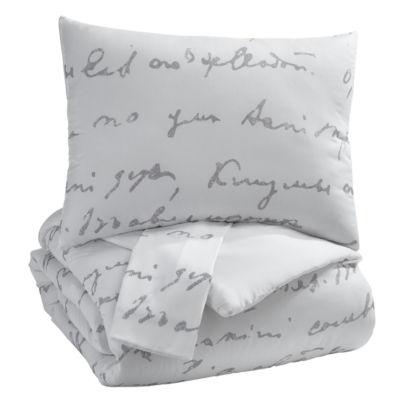 Signature Design by Ashley® Adrianna 3-Piece Comforter Set