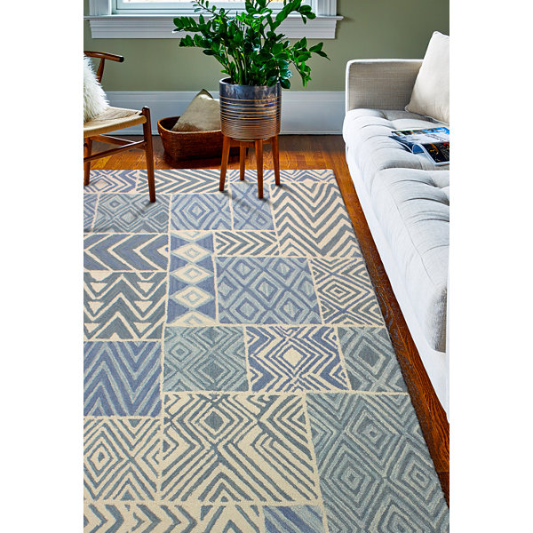 Videl 100% Wool Hand Tufted Area Rug