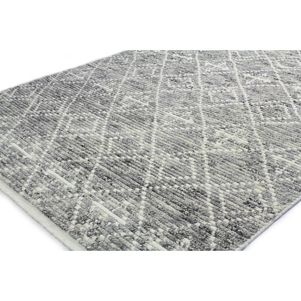 Jenny 100% Wool Hand Knotted Area Rug
