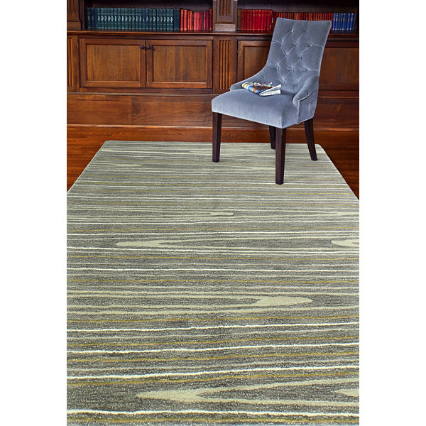 Alison Wool And Viscose Hand Tufted Area Rug