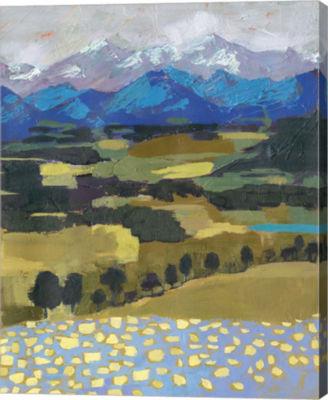 Metaverse Art Alpine Impression II Canvas Wall Art