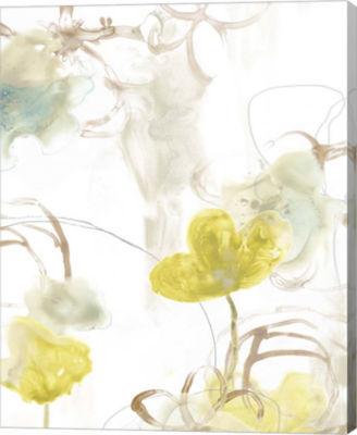 Metaverse Art Floral Arc I Canvas Wall Art