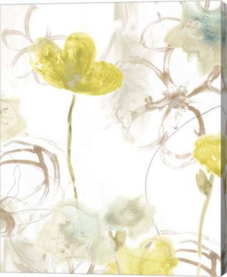 Metaverse Art Floral Arc II Canvas Wall Art