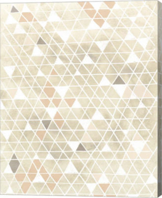 Metaverse Art Pattern Intersect II Canvas Wall Art