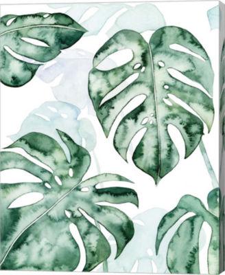Metaverse Art Split Leaf I Canvas Wall Art