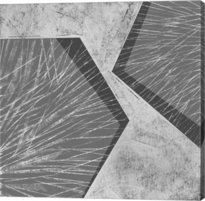 Metaverse Art Orchestrated Geometry I Canvas WallArt